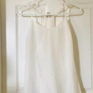 J Crew White camisole size 2